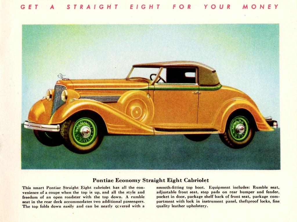 1934 Pontiac Economy Straight Eight Cabriolet | Alden Jewell