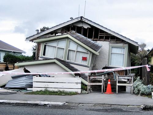 Damaged house following Feb 22 quake | by martinluff