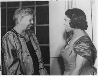 Eleanor Roosevelt and Marian Anderson in Japan, 05/22/1953