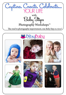 photography workshops flyer for the blog | by Bitsy Baby Photography [Rita]