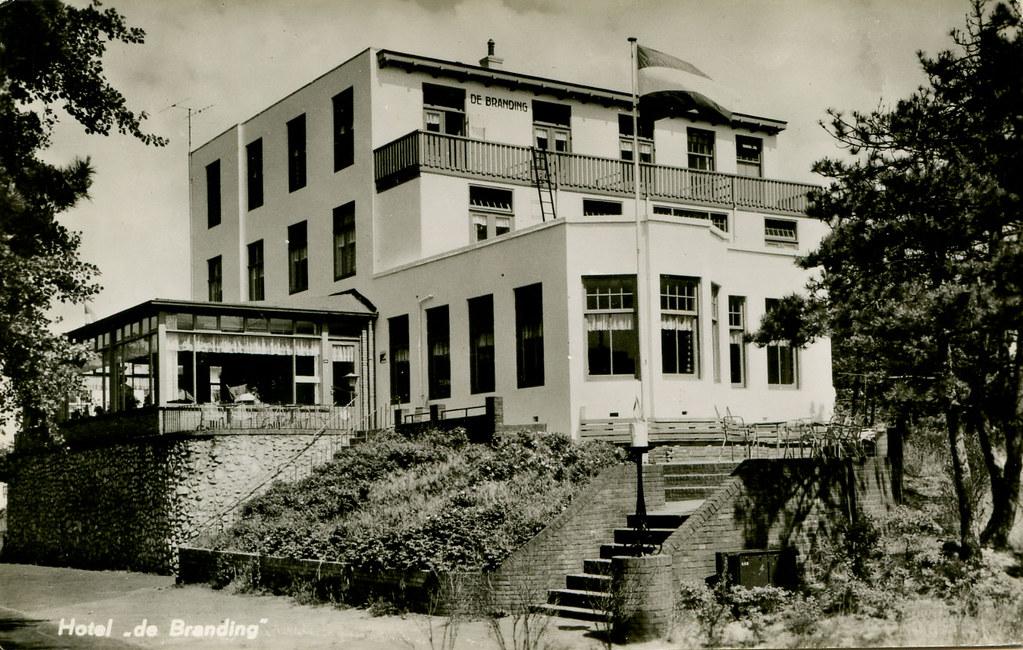 noordwijk; hotel de branding 1966 | gill steenvoorde | flickr