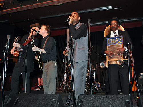 Paul Sanchez, Alex McMurray, Glen David Andrews and Washboard Chaz