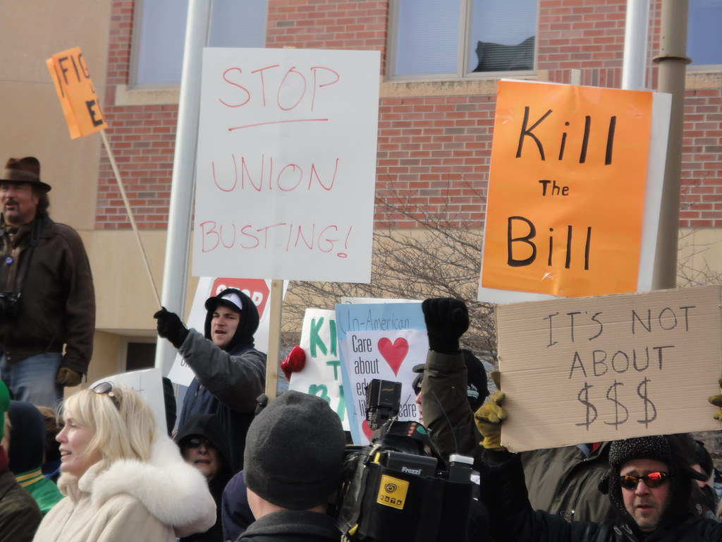 Stop Union Busting Kill the Bill It's Not About $$$