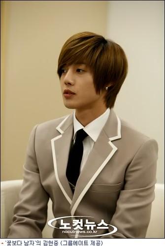 chuyên cắt tóc kiểu kim hyun joong /