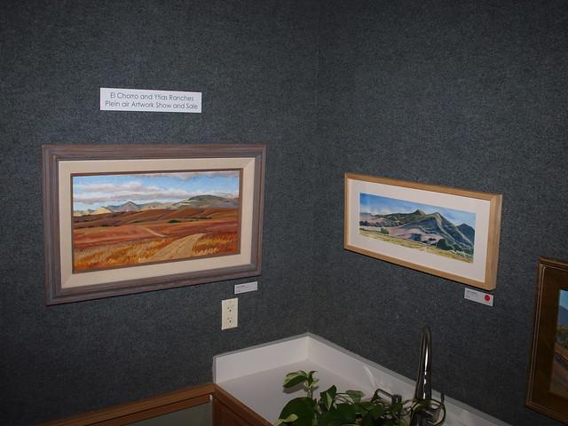 K2175440 john iwerks el chorro ytias ranch plein air artwork