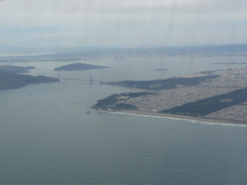 San Francisco from the air (UA857) | by Marc van der Chijs