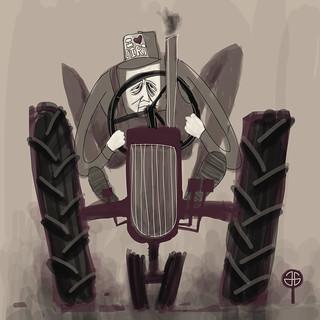 Death is a farmer