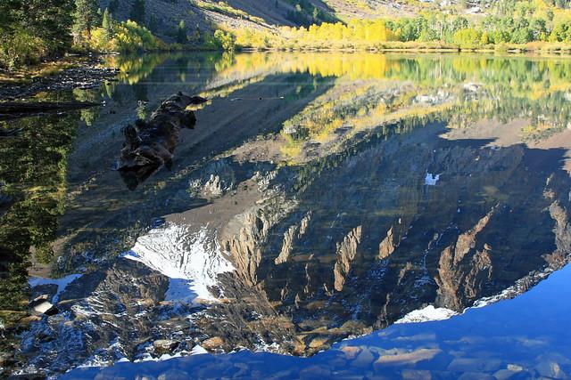 Nice reflection on Parker Lake