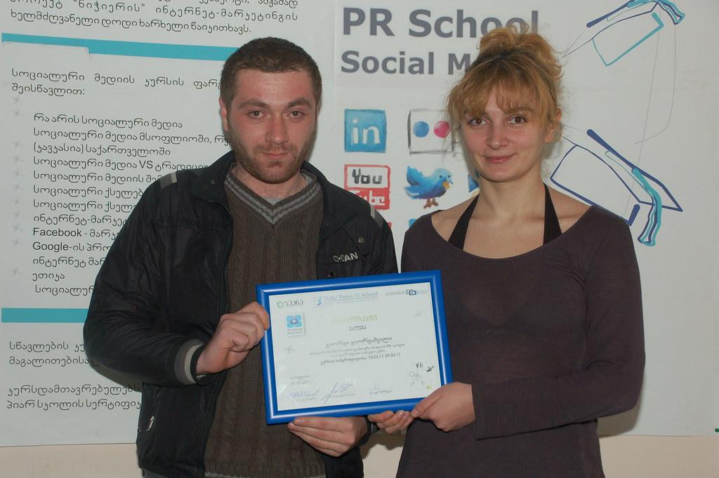 Graduate of Social Media - 29.03.11