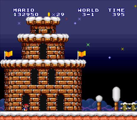 Super Mario All Stars: Super Mario Bros - World 3-1 (Super… | Flickr