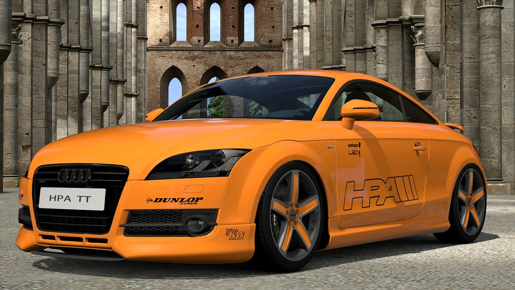 Hpa Motorsports Ft565 Twin Turbo Audi Tt San Galgano Abbey