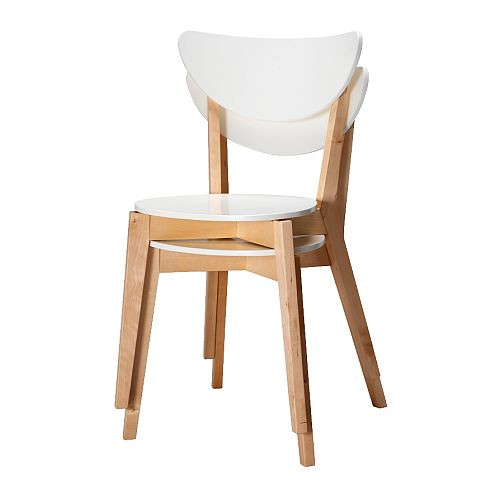 NORDMYRA Stackable Chairs $40