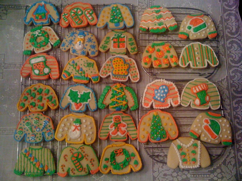 Ugly Christmas Sweater Cookies Sis Miss Flickr