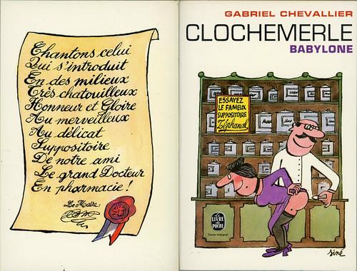 Livre de Poche 2556 - Gabriel Chevallier - Clochemerle Babylone (with back)