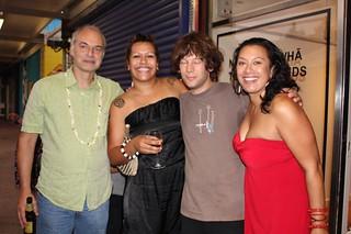 Team Ngā Hau E Whā - The Four Winds // Norman Edgerton, Ema Tavola, Douglas Bagnall + Leilani Kake