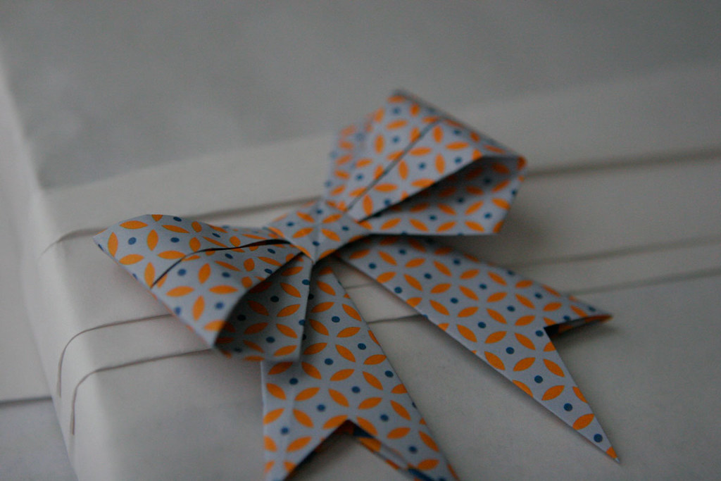 Easy Origami Bow Tie Tutorial | 683x1024