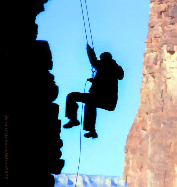 Papago Creek, rappel
