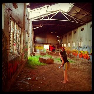Abandoned Warehouse   by kukame