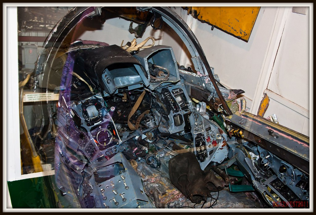 CRASHED MIG-29 COCKPIT | Part of one of the two Mig-29s that… | Flickr