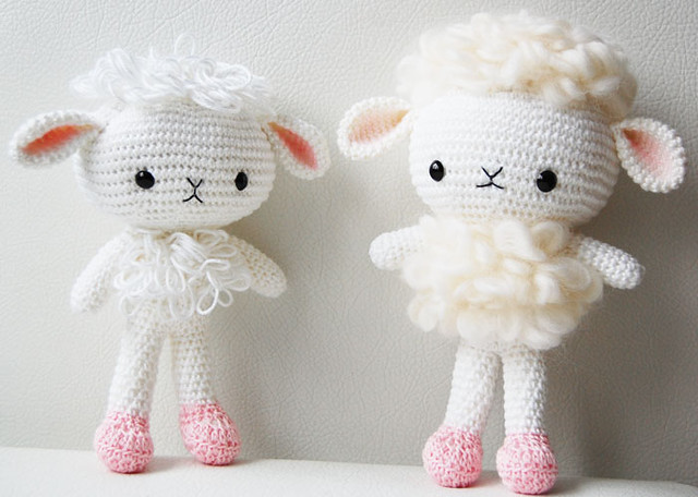 Crocheted sheep pattern | 456x640