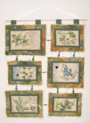 not even the rain: a love poem | by Pam Geisel Art Quilts