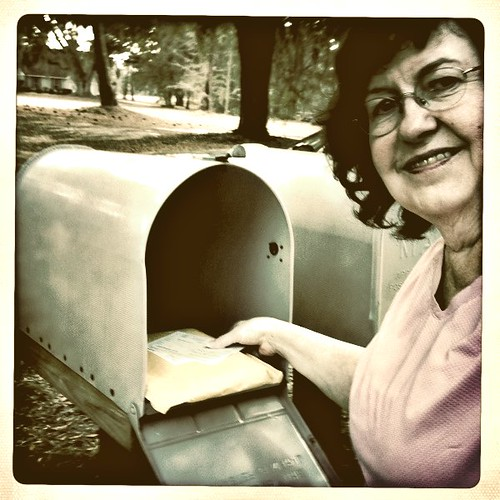 Year 5~Day 76 +47/365 AND Day 1537: Checking the Snail Mail | by Old Shoe Woman