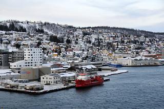 View from Tromsøbrua, Tromsø / Norway   by ANJCI ALL OVER