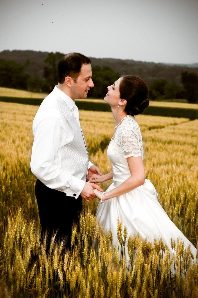 Wheat field Couple