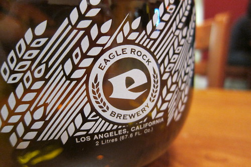 Eagle Rock Brewery: Growler | by Guzzle & Nosh