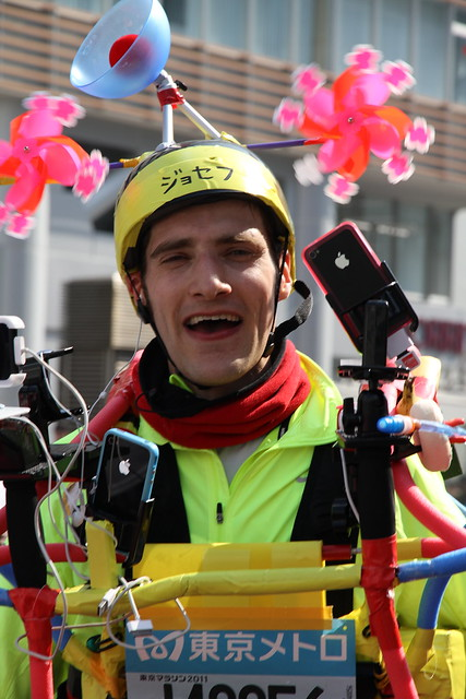 Hero of the Day! Joseph Tame, Tokyo Marathon 2011