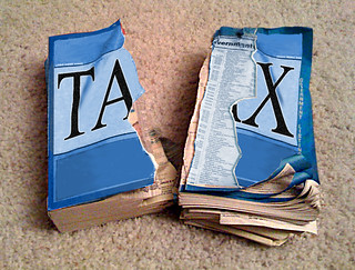 torn tax form | by tolworthy