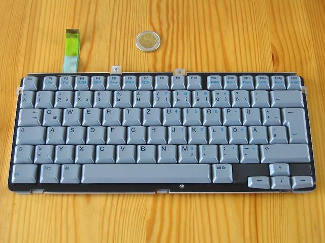 COMPAQ Contura Serie 2820 Notebooktastatur