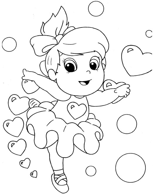 Desenho De Bailarina Para Colorir Risco De Pano De Prato1