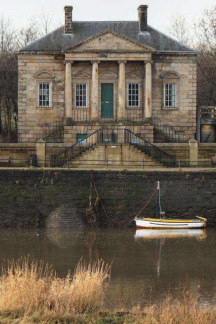 Custom House (Lancaster Maritime Museum), St. George's Quay, Lancaster, Lancashire, UK