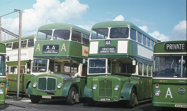 AA MS (Dodds of Troon) ENW 980D, DT16 (GSD 779) and others