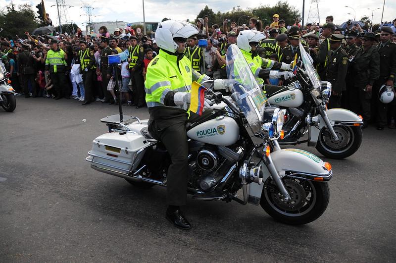 Vehículos Policía Nacional de Colombia