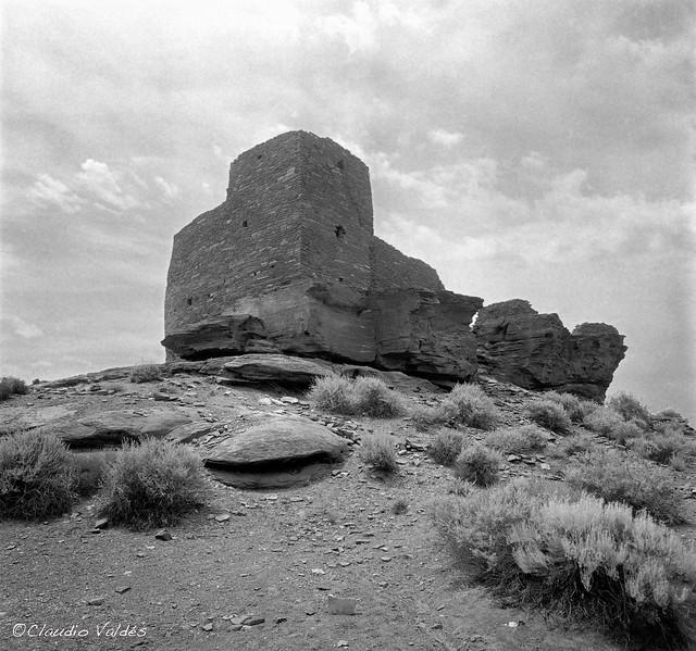 Wukoki Pueblo, early in the morning.