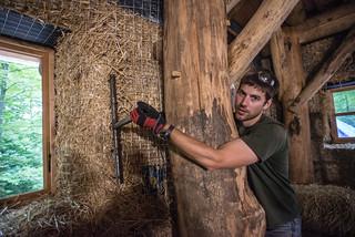 Dan Making Window Reveal | by goingslowly