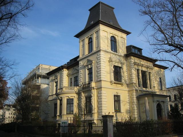1883 Magdeburg Kaufmannsvilla Gustav Tonne in Neorenaissance von Carl Loewe/Oscar Oeltze Zollstraße/Arkonastraße 1 in 39114 Werder