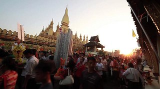 Pray and walk @Pha That Luang.Vientiane,LAOS on Vimeo by KazMo | by Kaz.MO
