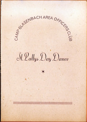 1947 - St Patricks Day Dinner Dance, Camp Glasenbach