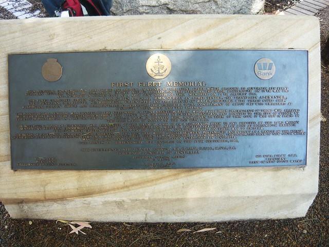 First Fleet Memorial