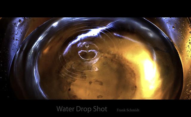 Water drop shot
