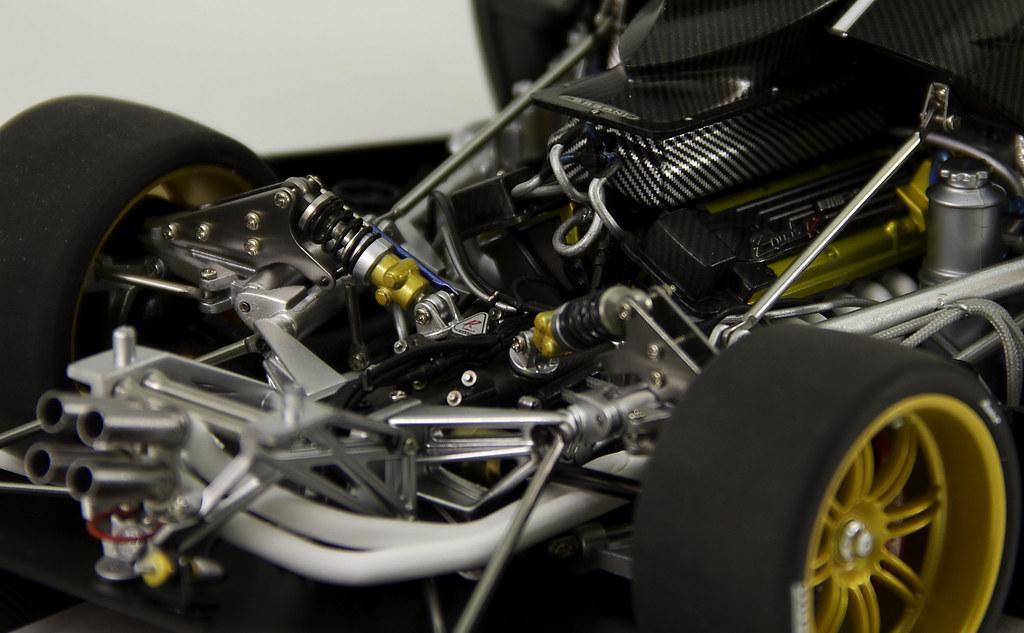 Pagani Zonda Engine Bay Supercars Gallery