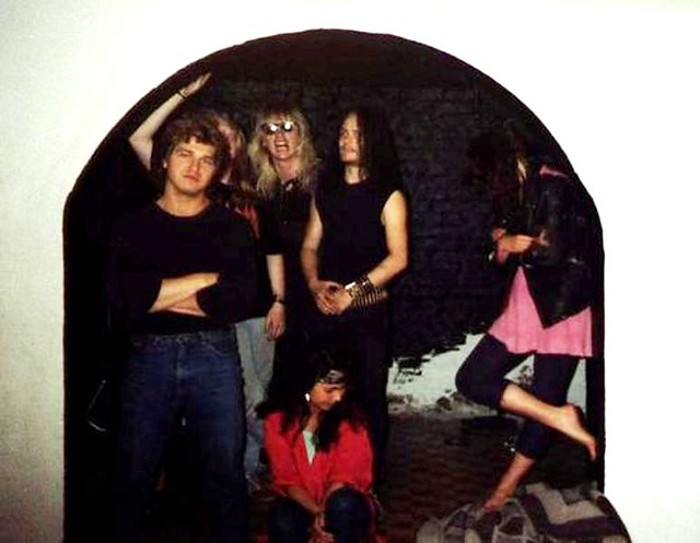 Euronymous with friends