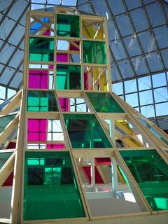 Daniel Buren: Architecture, contre-architecture : transposition | by tame_alien