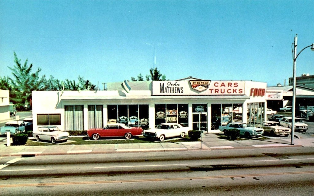 Ford West Palm Beach >> John Matthews Ford West Palm Beach Fl 1966 1520 North Di Flickr