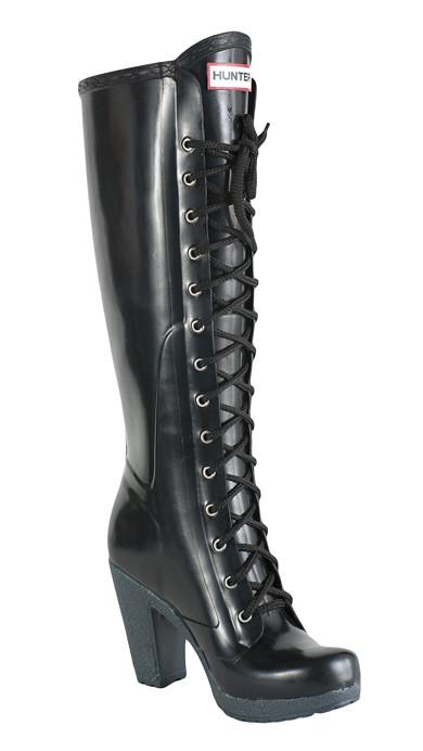 brand new 6d53d 80454 Hunter-Lace-Up-High-Heel-Rubber-Boot | HUNTER-DENMARK | Flickr