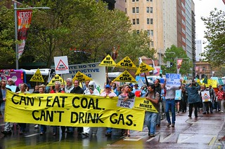 Can't Eat Coal, Can't Drink Gas Rally - Sydney | by Erland Howden