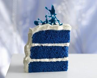 Fantastic Royal Blue Velvet Cake Recipe Ingredients Cake 1 Box Bett Flickr Funny Birthday Cards Online Elaedamsfinfo